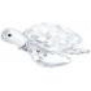 le corps de cette tortue scintille en cristal incolore. Ajoutez-la à votre collection de figurines Swarovski illustrant la vie sauvage ou offrez-la à quelqu'un de spécial. Elle sera un cadeau apprécié. Ceci n'est pas un jouet