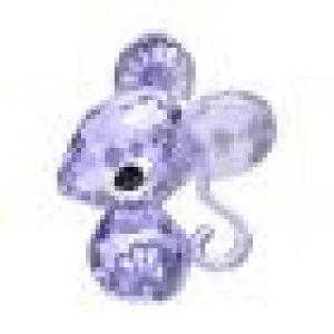 et étincelle en cristal Provence Lavender avec des yeux en cristal Jet. Admirez les joyeuses impressions sur le corps et une oreille. Ceci n'est pas un jouet mais un article de décoration. Ne convient pas aux enfants de moins de 15 ans. Swarovski FR - The Magic of Crystal