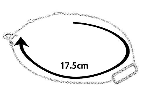 Miore - Bracelet - Or blanc 9 cts - Diamant 0.11 cts - 18 cm - MY022B 4 Bijoutier Boutique L'or blanc des bijoux Miore offre une touche d'élégance et met en valeur les pierres incrustées : Miore - Bracelet - Or blanc 9 cts - Diamant 0.11 cts - 18 cm - MY022B La femme qui porte un diamant est l'association parfaite entre les deux plus beaux joyaux du monde. Chaque bijou Miore est livré avec son certificat d'authenticité