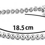 Miore - M0551W - Bracelet Femme - Or blanc 750/1000 (18 carats) 9.8 gr - Diamant 0.5 cts - 18.5 cm 3 Bijoutier Boutique L'or blanc des bijoux Miore offre une touche d'élégance et met en valeur les pierres incrustées La femme qui porte un diamant est l'association parfaite entre les deux plus beaux joyaux du monde.La femme qui porte un diamant est l'association parfaite entre les deux plus beaux joyaux du monde Chaque bijou Miore est livré avec son certificat d'authenticité