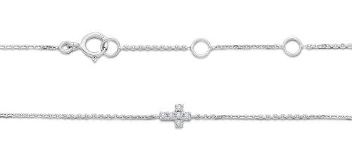 Miore - MY010B - Bracelet Femme - Or Blanc 9 Cts 375/1000 0.6 Gr - Diamant 1 Bijoutier Boutique L'or blanc des bijoux Miore offre une touche d'élégance et met en valeur les pierres incrustées La femme qui porte un diamant est l'association parfaite entre les deux plus beaux joyaux du monde. Miore - MY010B - Bracelet Femme - Or Blanc 9 Cts 375/1000 0.6 Gr - Diamant Chaque bijou Miore est livré avec son certificat d'authenticité