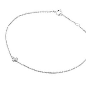 Miore - MY010B - Bracelet Femme - Or Blanc 9 Cts 375/1000 0.6 Gr - Diamant