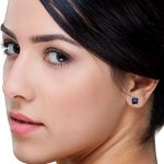 Boucles d'oreilles 378/1000 Saphir Bleu 9 Bijoutier Boutique L'or blanc des bijoux Miore offre une touche d'élégance et met en valeur les pierres incrustées Si vous êtes né(e) en septembre, vous pouvez choisir parmi les différentes couleurs du saphir pour exprimer votre personnalité rayonnante Chaque bijou Miore est livré avec son certificat d'authenticité