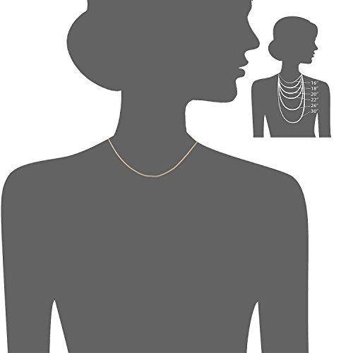 Citerna - Chaîne - Femme - Or jaune (9 carats) 1.1 Gr 2 Bijoutier Boutique Présenté dans un Citerna coffret cadeau Tous les produits Citerna incluent un certificat d'authenticité Citerna affiche des bijoux classiques en or et en argent, qui sont à la fois polyvalents et intemporels