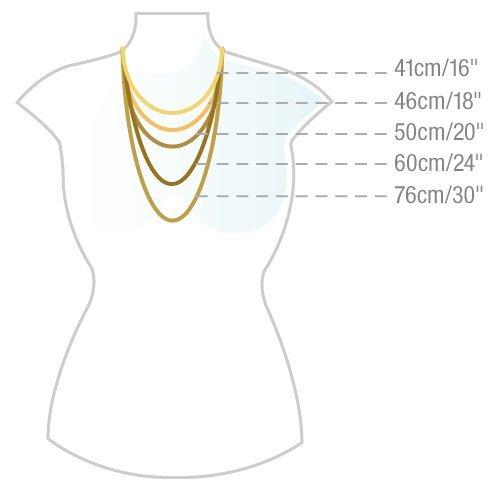 Citerna - Chaîne - Femme - Or jaune (9 carats) 1.1 Gr 5 Bijoutier Boutique Présenté dans un Citerna coffret cadeau Tous les produits Citerna incluent un certificat d'authenticité Citerna affiche des bijoux classiques en or et en argent, qui sont à la fois polyvalents et intemporels