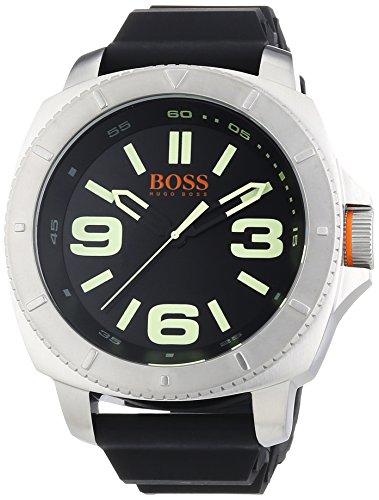 Boss Orange 1513107 Montre Homme 1 Bijoutier Boutique Type d'Écran de Visualisation : Analogique Étanche (bar) : 50 Diamètre (sans couronne) en mm/pouce : 51 / 2,01