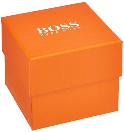 BOSS Orange - 1513240 - Montre Homme - Quartz - Analogique - Bracelet cuir Marron 1 Bijoutier Boutique Mouvement à sous-cadrans multiples (jour, date et affichage de l'heure au format 24heures). Boîtier en acier inoxydable à placage ionique kaki. Bracelet en cuir nubuck.