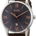 Montre Homme Hugo Boss 1513484 4 Bijoutier Boutique Type d'Écran de Visualisation : Analogique Étanche (bar) : 30 Diamètre (sans couronne) en mm/pouce : 44 / 1,73