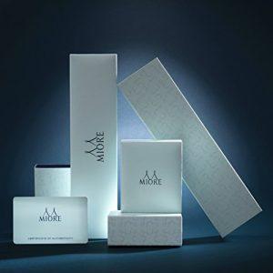 Miore-Boucles-dOreille-Femme-Or-blanc-9-Cts-Diamant-et-Perle-0-3 3 Bijoutier Boutique